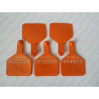 Buy cheap Full color printing rfid animal ear tag for cattle and sheep from wholesalers
