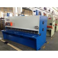 8 Mm Thickness Hydraulic Shearing Machine To Cut Metal Plate 11 Kw Manufactures