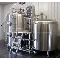 Stainless Steel 304 / 316L Beer Brewery Saccharification / Mashing Equipment Manufactures