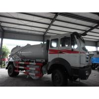 Buy cheap North Benz brand 4*2 10m3  sewage suction truck for sale, sludge tank truck for sale, best price North Benz vacuum truck from wholesalers