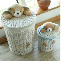 Buy cheap Oval willow crafts basket from wholesalers