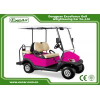 Buy cheap Pink 48 Voltage Trojan Battery 4 Passenger Golf Cart Rear Drum Brake Type from wholesalers