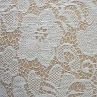 Buy cheap Woven jacquard fabric, looks like lace, strong and firm construction from wholesalers
