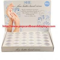 Buy cheap Hand cream cardboard counter display paper rack stand printed countertop display from wholesalers