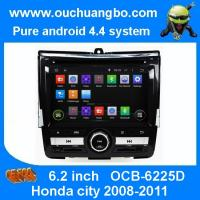 Buy cheap Ouchuangbo DVD GPS Navigation iPod USB 3G Wifi for Honda city 2008-2011 Android 4.4 OS from wholesalers