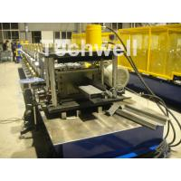 High Productivity Z Shaped Roll Forming Machine With 0-15m/min Forming Speed , Guiding Column Machine Structure Manufactures