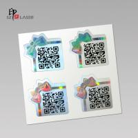 Wholesale Custom Polyester Holographic sticker labels with serial number printing from china suppliers