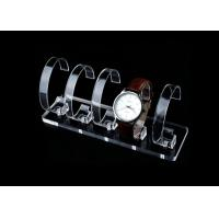 Buy cheap High Transparent Acrylic Watch Display Stand Lightweight 12.5 X 5.8 X 1cm Size from wholesalers