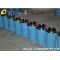 Bomco F1600 Triplex Mud Pump Liner, API-7K Certified Factory, Chromium content 26-28%, HRC hardness greater than 60