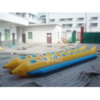 Buy cheap Banana Boat For Sale / Double Line Tube Inflatable Fly Fishing Boats For Summer Exciting Beach Sports 16 Person from wholesalers