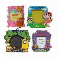 Wholesale 2/3D Soft PVC Photo Frame with Various Frame Materials and Magnet, Customized Designs Welcomed from china suppliers