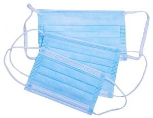 Wholesale Ear Hanging Disposable Mouth Mask , Disposable Non Woven Face Mask Super Soft Cloth from china suppliers