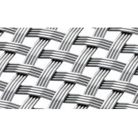 Buy cheap Stainless 4-Wires Woven Architectural Mesh,Unique Decorative Metal Mesh for Curtain Wall from wholesalers