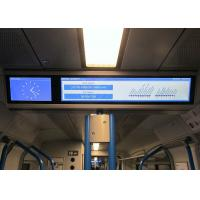 Buy cheap Professional Electronic Passenger Information Display Audio Capability Available For Subway from wholesalers