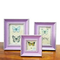 Buy cheap 4X6 wooden photo frame from wholesalers