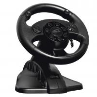 FUTIME game steering wheel racing wheel with foot pedal for PC + X-INPUT + PS2 + PS3 Manufactures