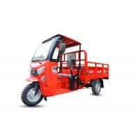Buy cheap Motorized Three Wheel Cargo Motorcycle / Tricycle Cargo Truck With 12v 120ah Battery from wholesalers