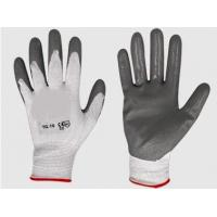 Buy cheap Nitrile Coated work gloves wholesale from wholesalers