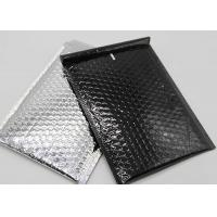 Buy cheap Foil Film Material Metallic Bubble Mailers 6x9 2 Sealing Sides Customized Color from wholesalers