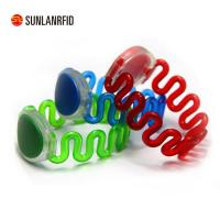 Buy cheap Waterproof Silicone uhf rfid wristband/bracelet for Swimming pool,Water parks,Sporting venues from wholesalers