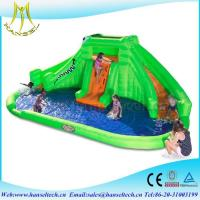 Hansel commercial outdoor use chldren party equipment inflatable jumping water slide Manufactures