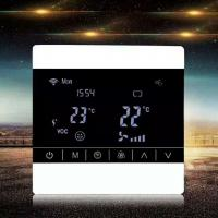 Buy cheap Screen Touch LCD Fan Coil Unit Thermostat Ceiling Mount Energy Saving from wholesalers