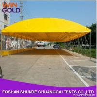 12m iron galavanized foldable car garage design with steel structures Manufactures