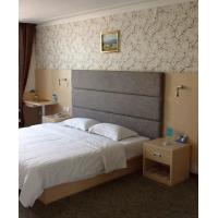 Environment Luxury Hotel Furniture Sets King Size Headboard / Bedside Tables