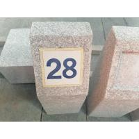 Buy cheap Natural stone G617 granite slab tile guide stone stela road mark  curb from wholesalers