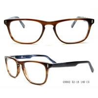 Buy cheap Popular Laser Temples Acetate Optical Frames Oval Shape For Women FDA from wholesalers