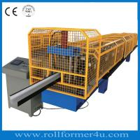 Buy cheap 16 Forming Station Gutter Roll Forming Machine For Rainwater Half Round Gutter from wholesalers