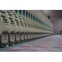 60 Heads 6 Needles High Speed Multi-head Lace Embroidery Machine , 1000RPM Manufactures