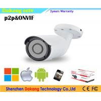 Outdoor VF Bullet camera,1.3MP 960P p2p Cloud IP Network Video Camera Manufactures