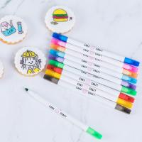 Buy cheap Food Decorating Edible Marker Pen Thick And Fine Tip With Customized Logo from wholesalers