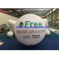 Buy cheap PVC Helium Sky Inflatable Advertising Balloon With Lighting And Branding from wholesalers