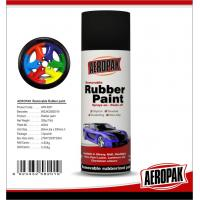Buy cheap Fluorescent / Luminous Removable Rubber Spray Paint With Liquid Coating from wholesalers