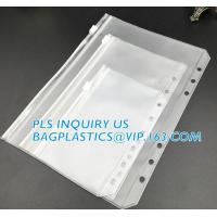 Buy cheap Biodegradable Page Banknotes Postage Stamp Pockets Transparent PVC Money Album Loose-leaf Sheet Holders page bags holder from wholesalers