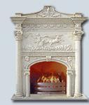 Buy cheap mantel,fireplace,stone fireplace,marble fireplace,stone mantel,marble mantel, from wholesalers