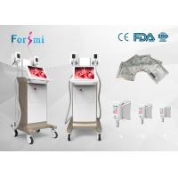 Buy cheap waist fat cell loose cryotherapy machine whole body three handle sizes choose 4 cooling pads from wholesalers