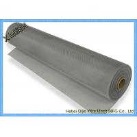 Buy cheap Anodized Aluminium Insect Screen Mesh 1 X 30 M Roll Epoxy Coating Silver White Color from wholesalers