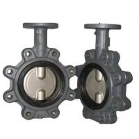 """Lug Type Casting Iron Material Concentric Butterfly Valves NPS2""""-48"""" Manufactures"""