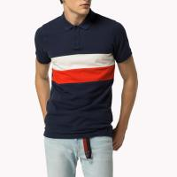 Buy cheap Eco Friendly Mens Polo Style Shirts / Male Summer Polo Shirt With Custom Logo from wholesalers