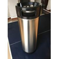Buy cheap Home Brew 5 Gallon Stainless Steel Keg Customized Logo With Rubber Handle from wholesalers