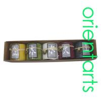 Buy cheap 2 Inch Round Feng Shui Five Elements Candle Gift Set from wholesalers