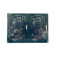 Buy cheap Double Sided Audio Circuit Board , Audio Amplifier Pcb Blue Solder Mask from wholesalers