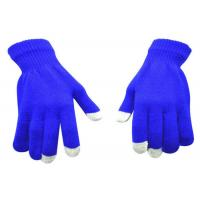 Buy cheap Snowing Days Touch Screen Compatible Gloves Various Color CE Standard from wholesalers