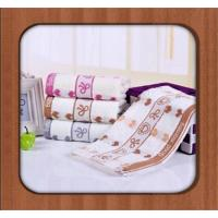 Buy cheap 2016 100% cotton Wholesale good quality promotional custom printed Face towel from wholesalers