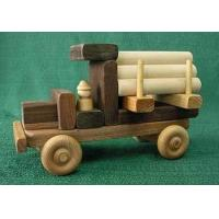 China Maple / Walnut Wood Natural Childrens Toy Building Vehicle Blocks on sale