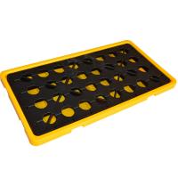 Buy cheap Chemical spill decks 2 Oil Drum Containment Pallet for Chemical Storage And Moving from wholesalers