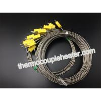 Buy cheap 12-480V Electric RTD Thermocouple With Plugs , 3.0mm Mineral Insulated Cable from wholesalers